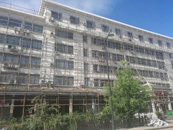 绍兴古城区立面改造工程